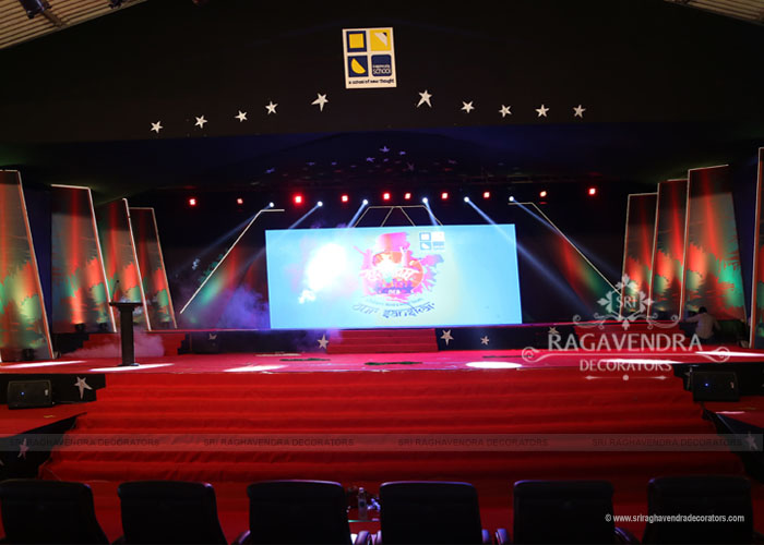 Quality stage decoration in coimbatore